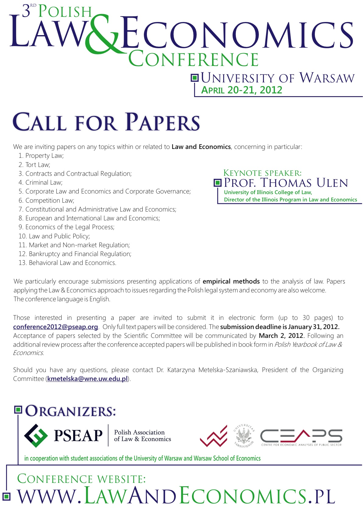 call for papers for economic conferences 2014 Articles in call for paper  and services in eu and international economic law' the conference website with information about the conference concept, the .